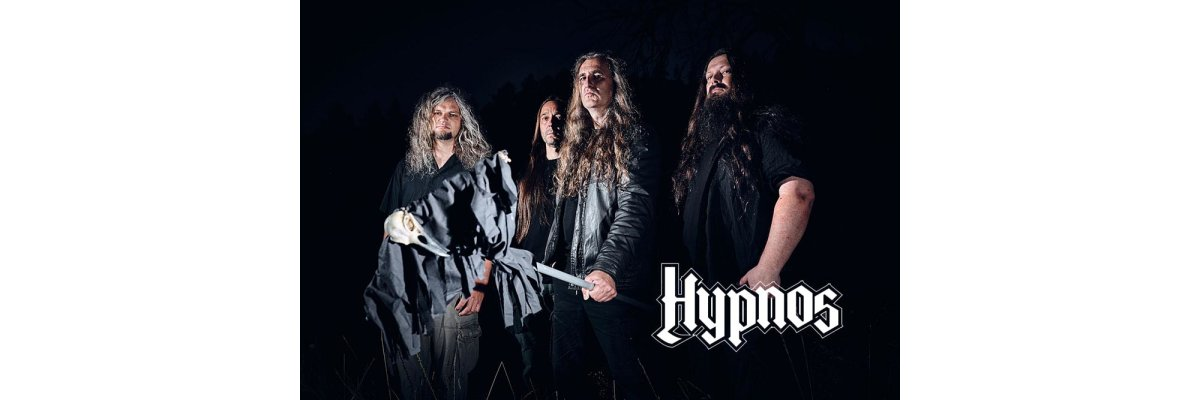 "Hypnos reveals ""The Blackcrow"" Album Frontcover und Tracklist -"