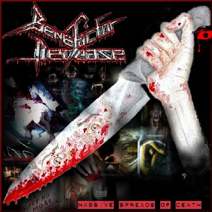 Benefactor Decease  - Massive Spreads of Death  LP