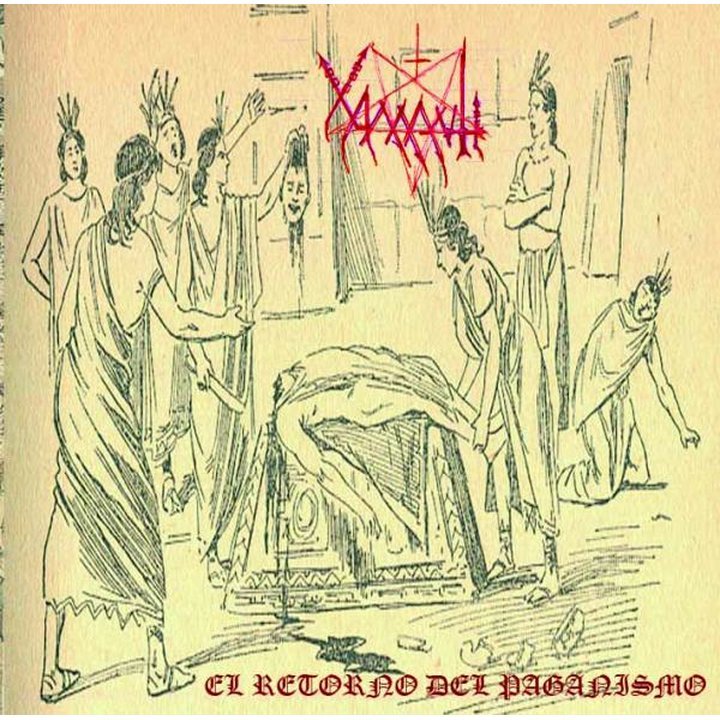 Xamantl - The Return Of Paganism CD