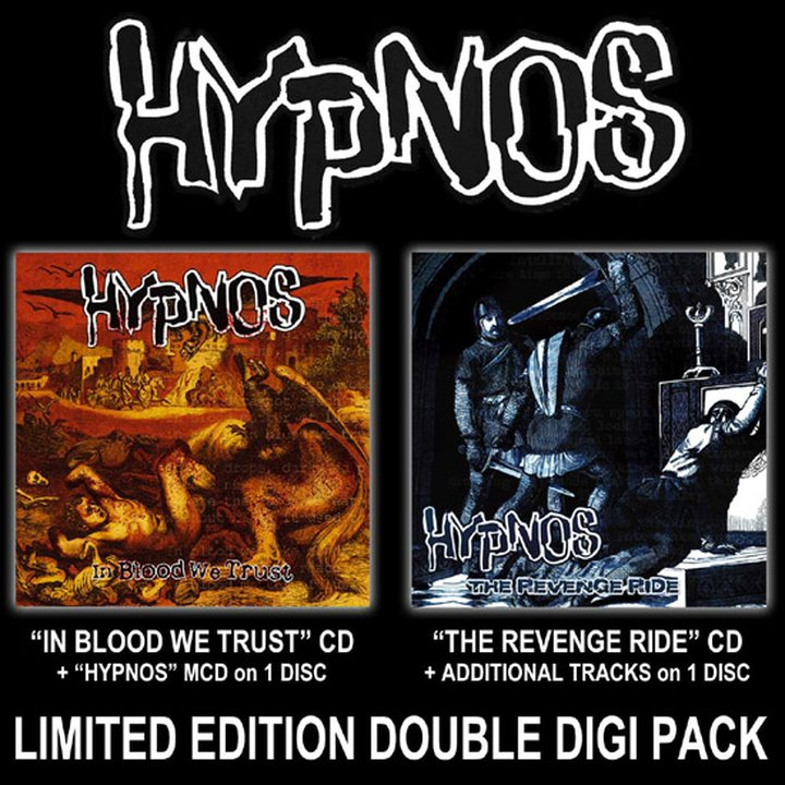 Hypnos - In Blood We Trust / The Revenge Ride Digi-2-CD
