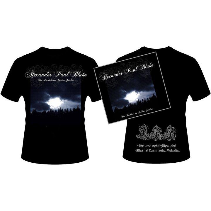 Alexander Paul Blake - Die Rückkehr ins Goldene Zeitalter Digi-CD + T - Shirt