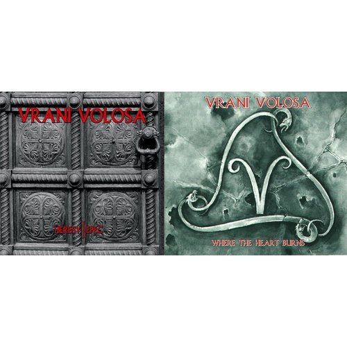 Vrani Volosa - Heresy / Epec  Digi-CD + Vrani Volosa -...