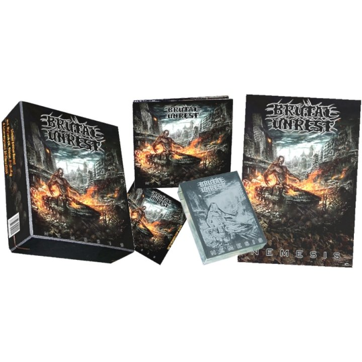 Brutal Unrest - Nemesis (Limited Boxset incl. Digi-CD)