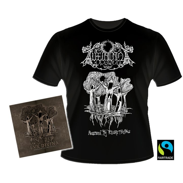 Lux Divina - Possessed  By Telluric Feelings  CD + T-Shirt