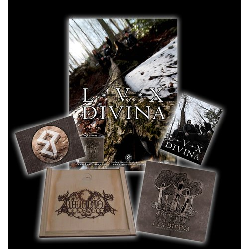 Lux Divina - Possessed  By Telluric Feelings WOODEN-Box +...