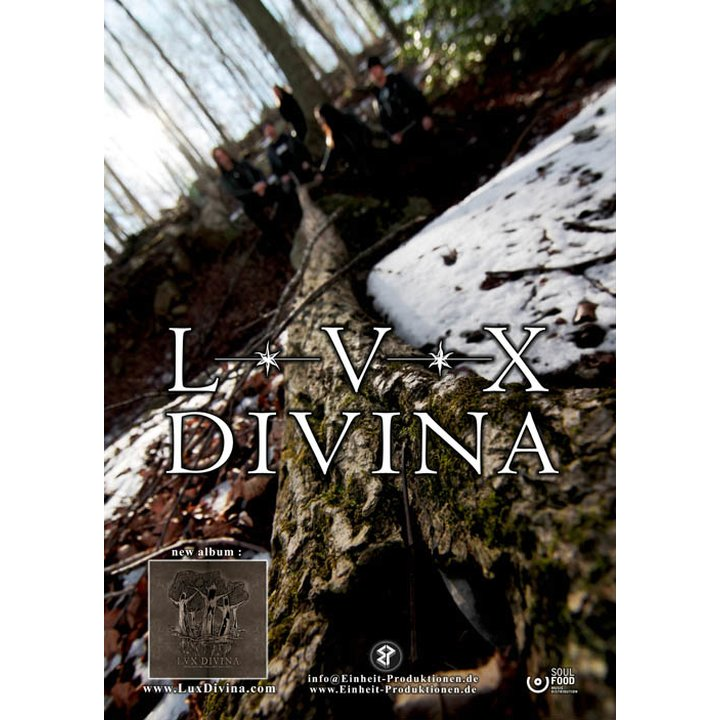 Lux Divina - Possessed  By Telluric Feelings  Poster