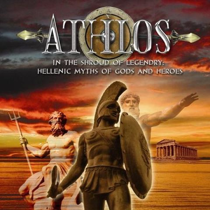 Athlos - In The Shroud Of Legendary: Hellenic Myths Of Gods And Heroes CD