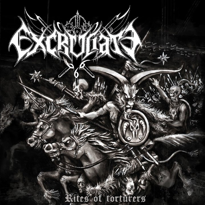 Excruciate 666 - Rites of Torturers CD