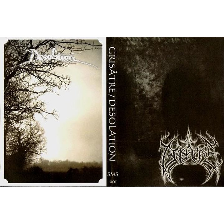 Grisatre / Desolation - Split A5-CD