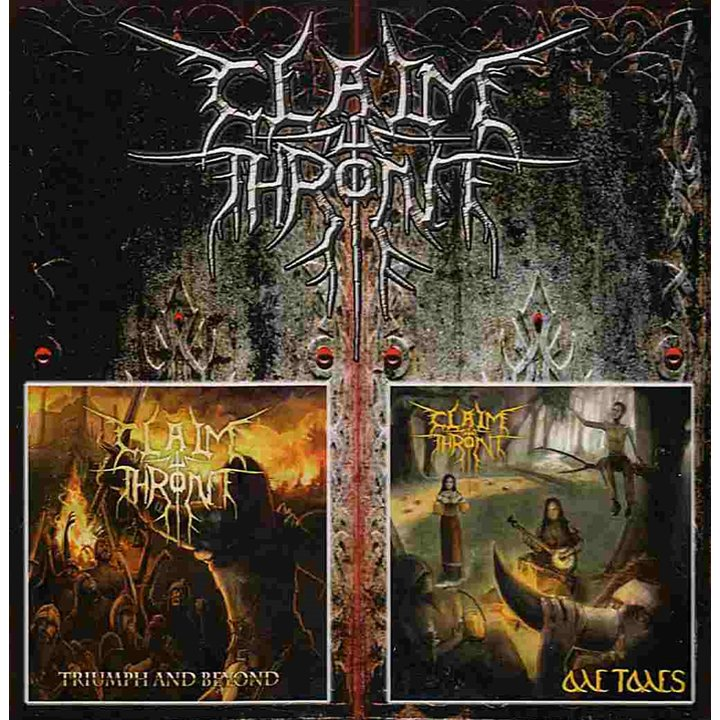 Claim The Throne - Ale Tales / Triumph And Beyond CD