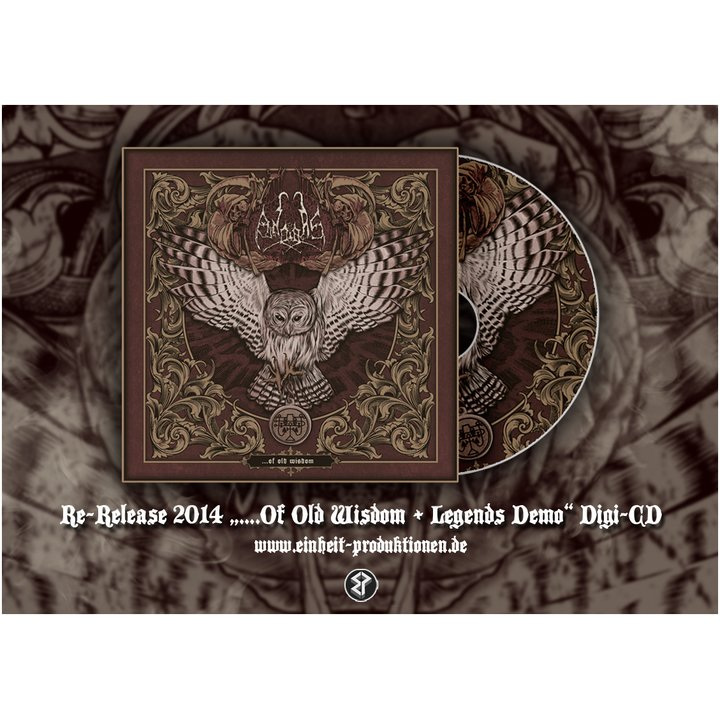 Andras - ...of old Wisdom / Legends Digi-CD
