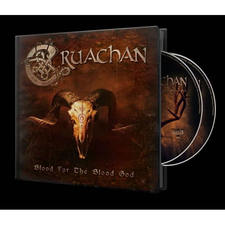 Cruachan - Blood for the Blood God  Hardcover Artbook-2-CD
