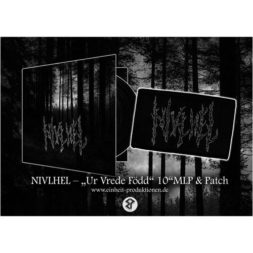 """Nivlhel - Ur Vrede Född  10"""" MLP + Patch"""