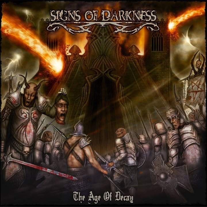 Signs Of Darkness -  The Age of Decay CD