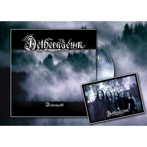 Aethernaeum - Naturmystik Artbook-CD + signed autograph card