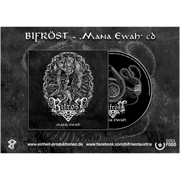 Bifröst - Mana Ewah  CD