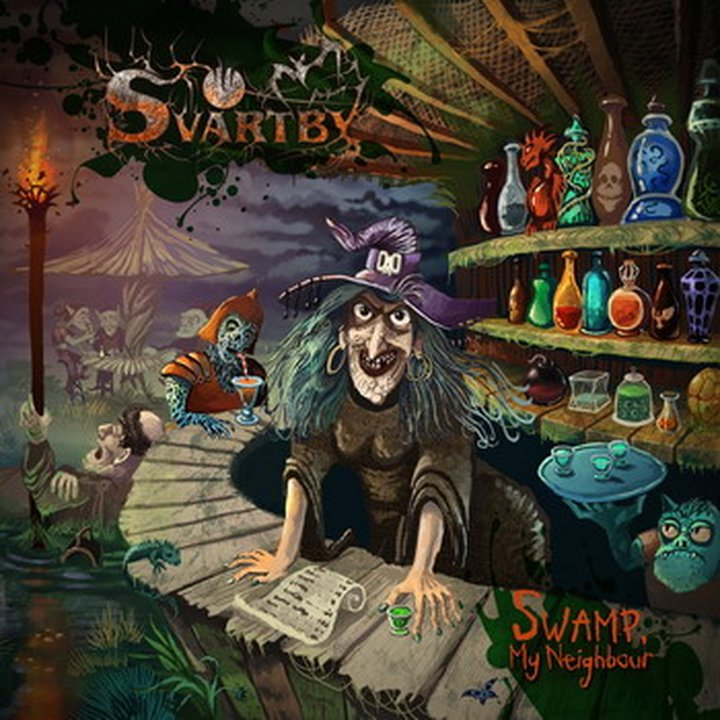 Svartby - Swamp My Neighbour CD