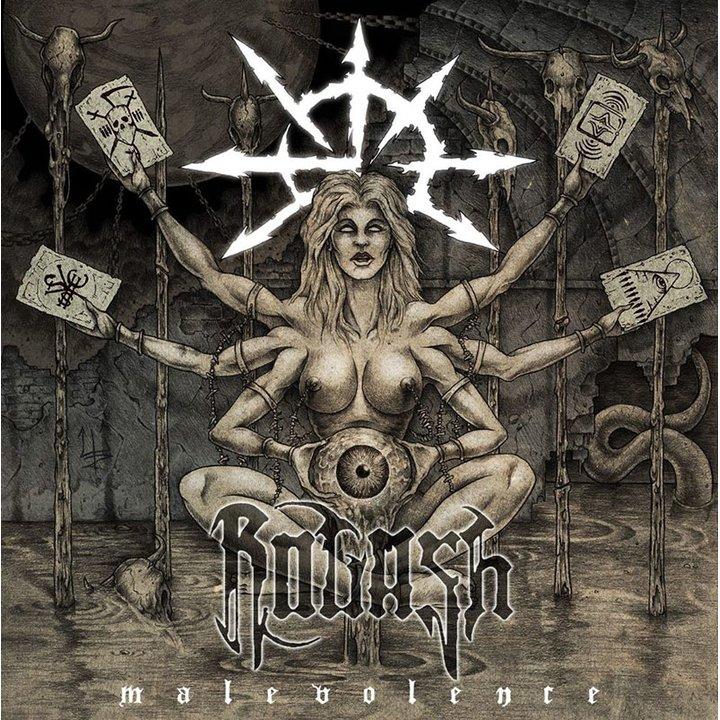 Rogash - Malevolence  Digi-CD