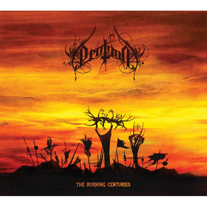 Protean - The Burning Centuries  Digi-CD