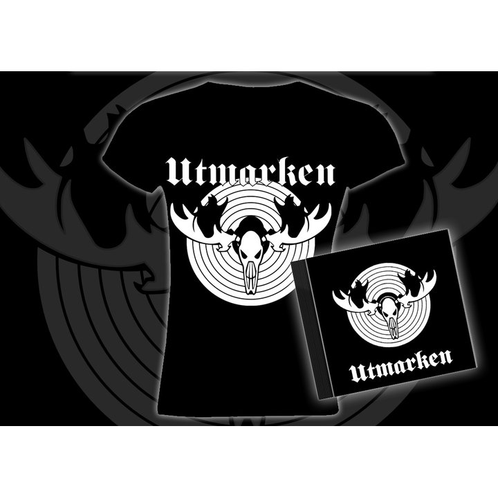 Utmarken - s/t  CD + Girlie T-Shirt