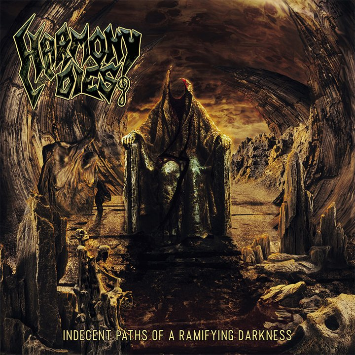 Harmony Dies - Indecent Paths Of A Ramifying Darkness  Digisleeve-CD
