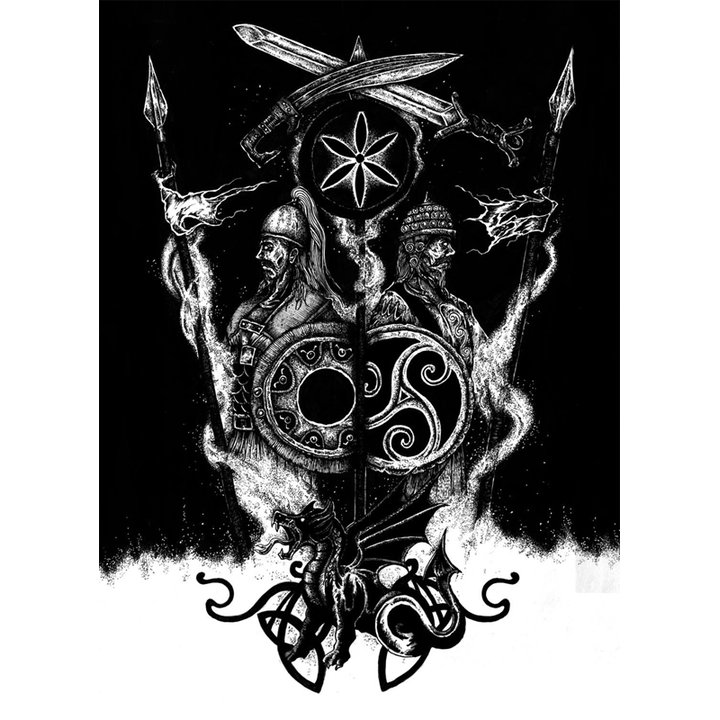 Rèstia / Xerión / Bruma Obscura - Split MC