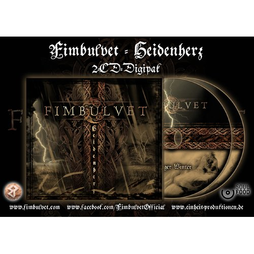 Fimbulvet - Heidenherz  Digi-2-CD