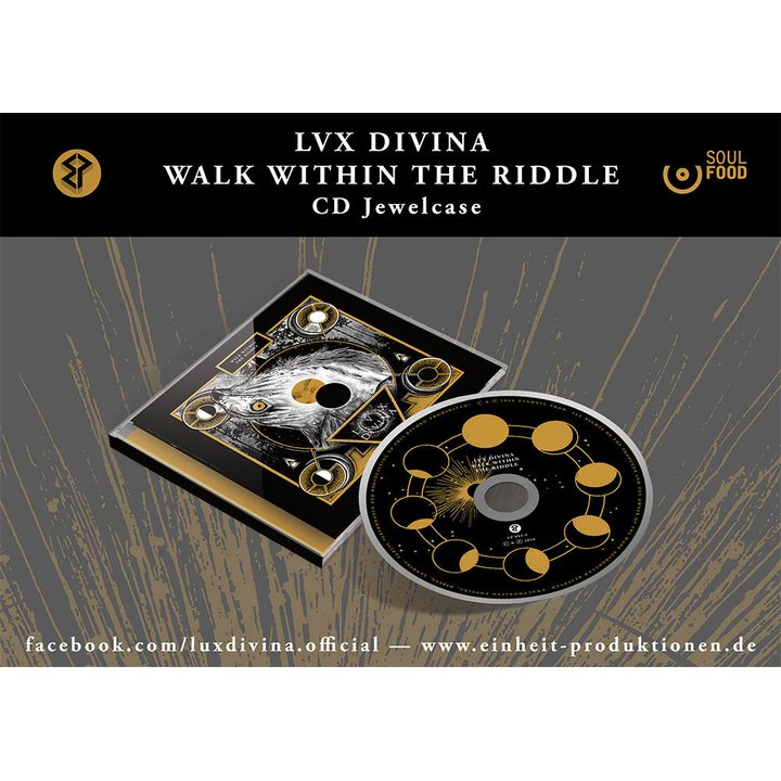 Lux Divina - Walk Within The Riddle CD