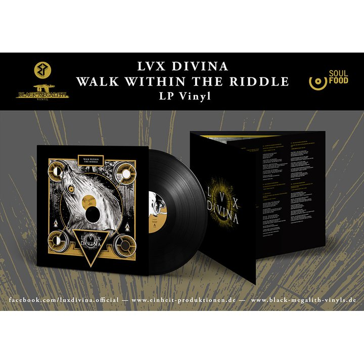 Lux Divina - Walk Within The Riddle LP