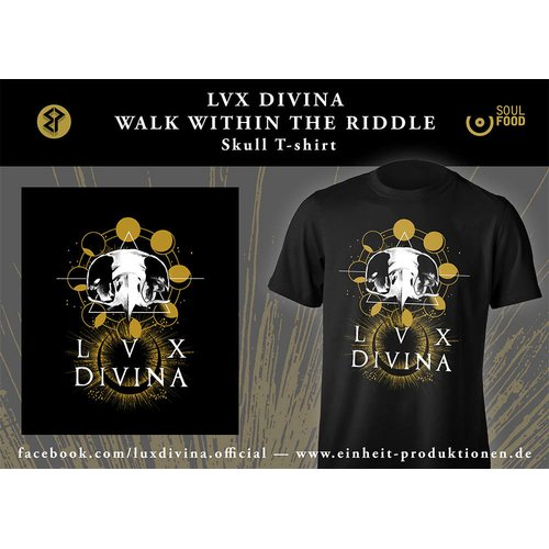 Lux Divina - Skull T-Shirt