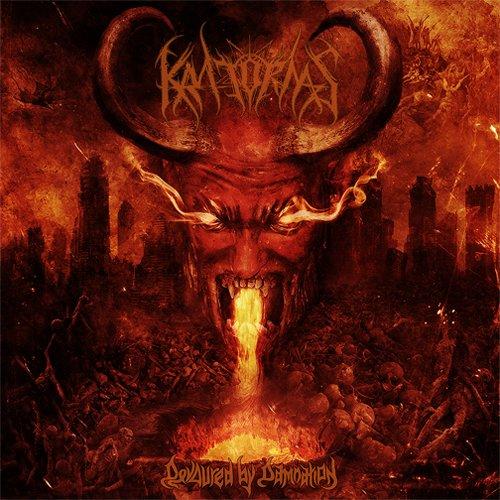 Kratornas - Devoured By Damnation CD