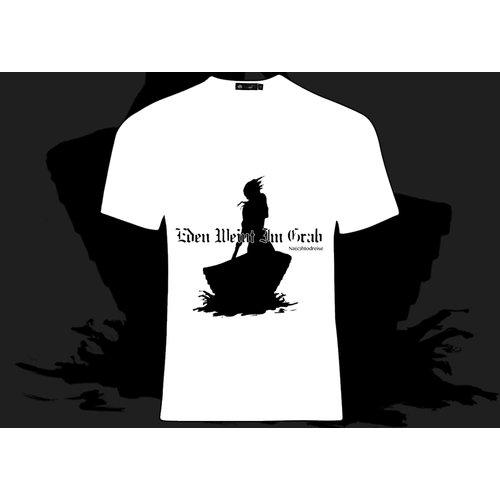 Eden Weint Im Grab - Na(c)htodreise T-Shirt (White)