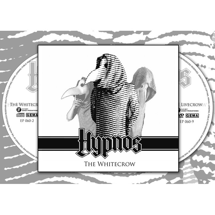 Hypnos - The Whitecrow Digi-CD+DVD