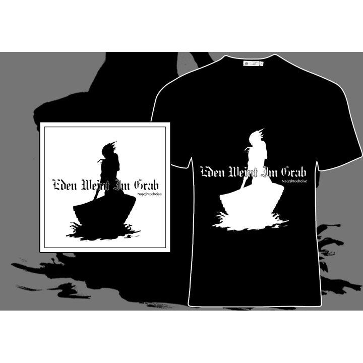Eden Weint Im Grab - Na(c)htodreise CD  + T-Shirt (Black)