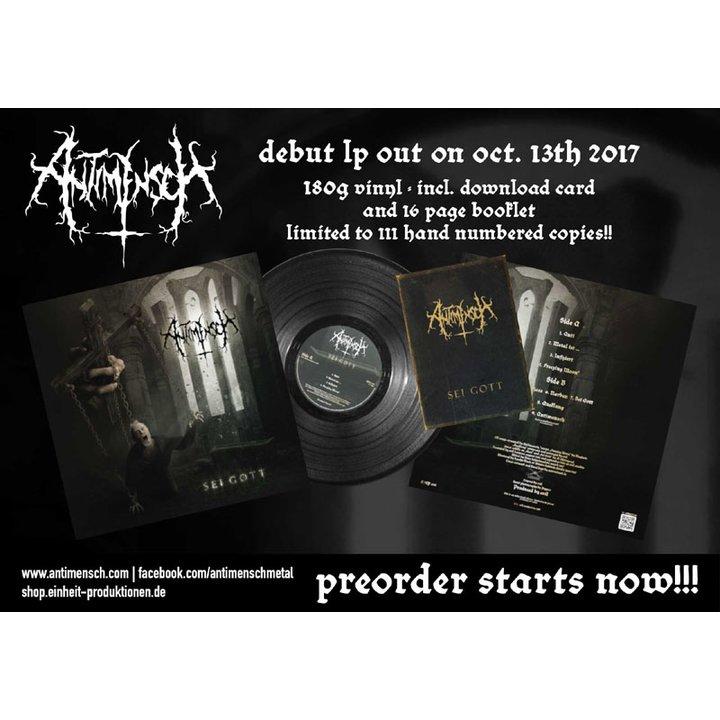 Antimensch  - Sei Gott  LP