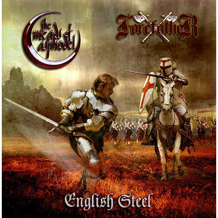 Forefather / The Meads of Asphodel - English Steel Split CD