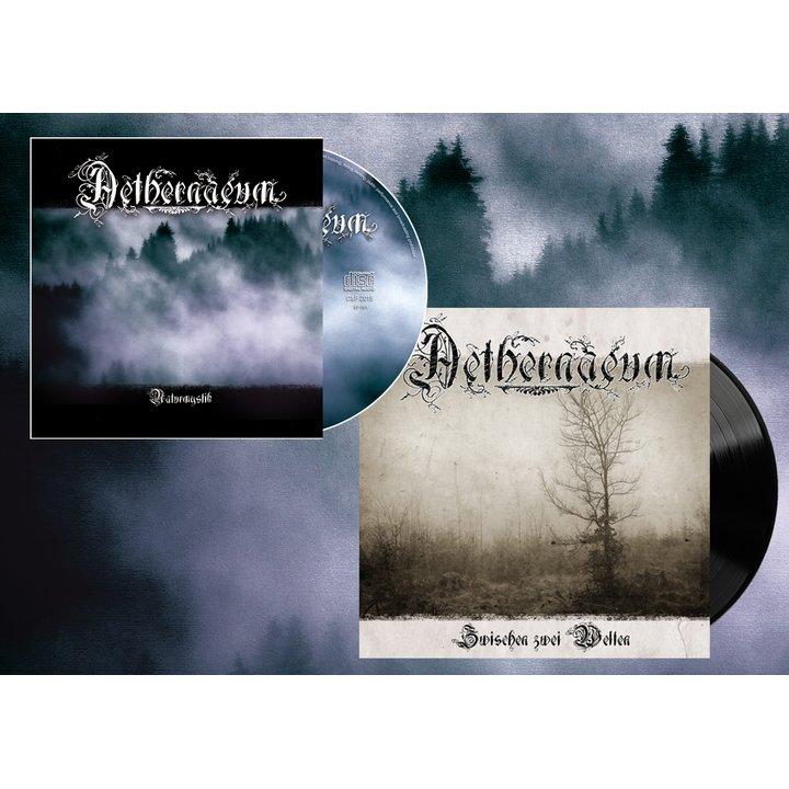 Aethernaeum - Zwischen zwei Welten Vinyl EP + MP3 Download Code + Naturmystik CD