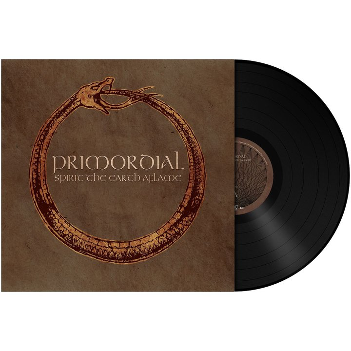 Primordial - Spirit The Earth Aflame BLACK Vinyl LP