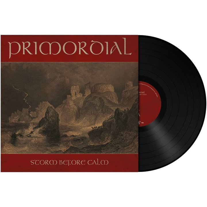Primordial - Storm Before Calm BLACK Vinyl LP