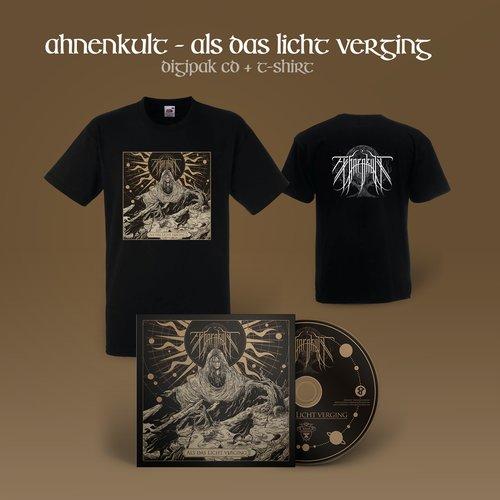 Ahnenkult - Als das Licht verging Digi-CD + T-Shirt