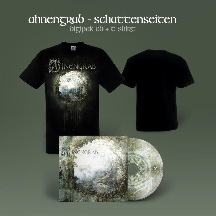 Ahnengrab - Schattenseiten Digi-CD + T-Shirt