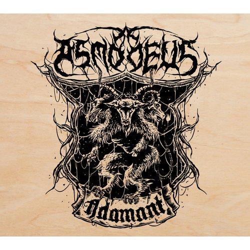 Asmodeus - Adamant Woodenbox CD+Patch