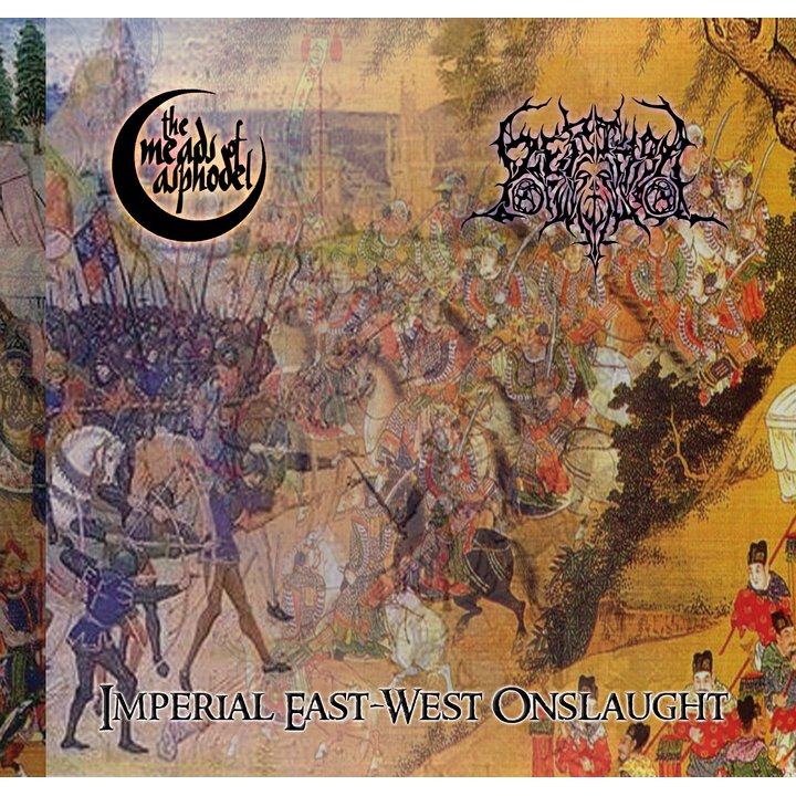 The Meads of Asphodel/Rethro - Imperial East-West Onslaugt (Split) CD