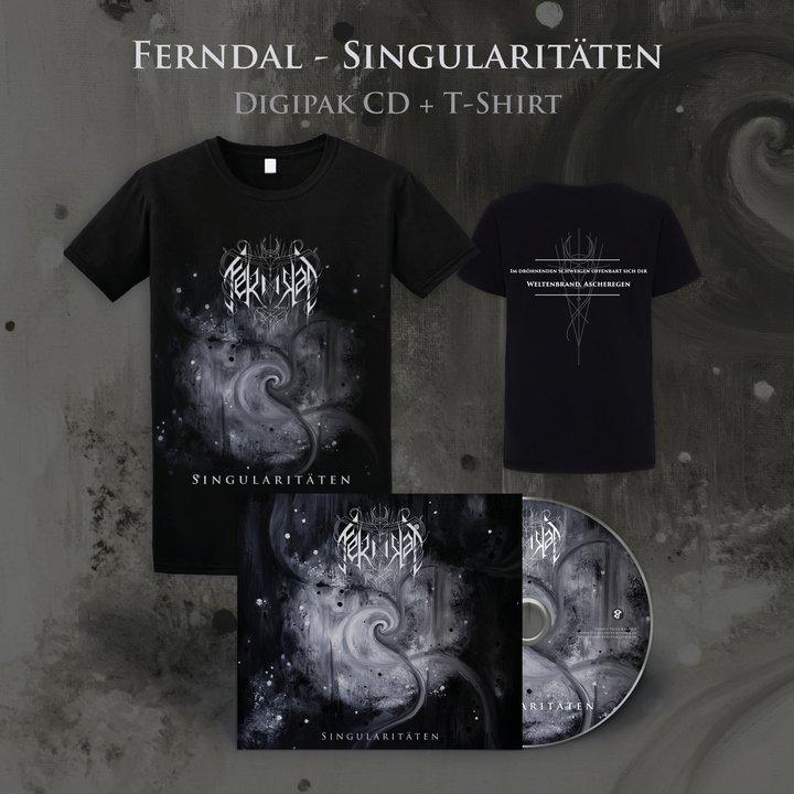 Ferndal - Singularitäten Digi-CD + T-Shirt