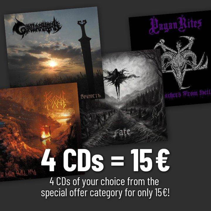 4 Sonderangebots-CDs deiner Wahl