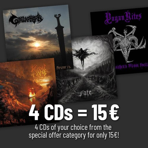 4 Special Price CDs Of Your Choice