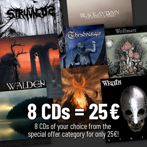8 Special Price CDs Of Your Choice