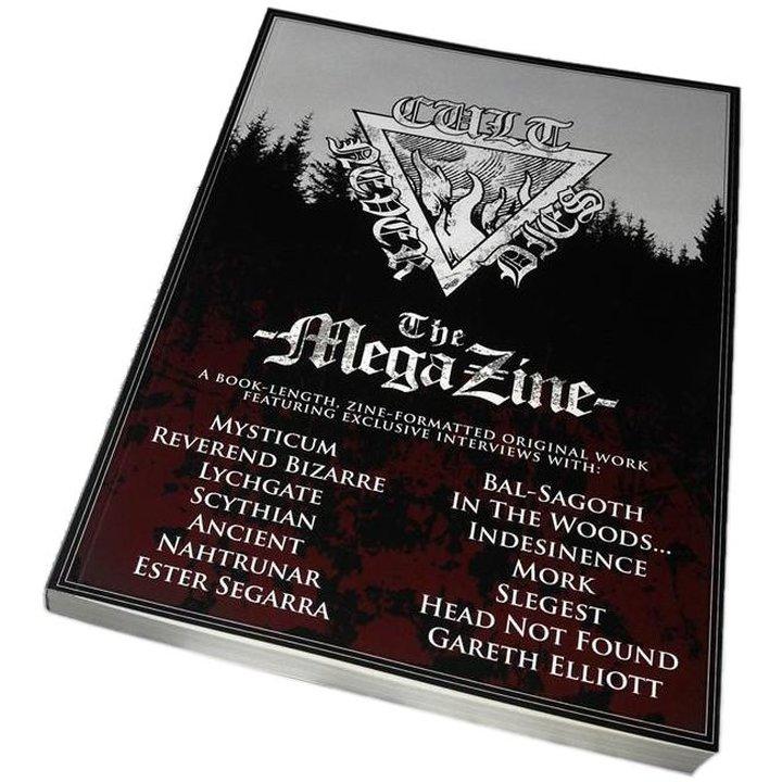 Cult Never Dies: The Mega Zine - Book