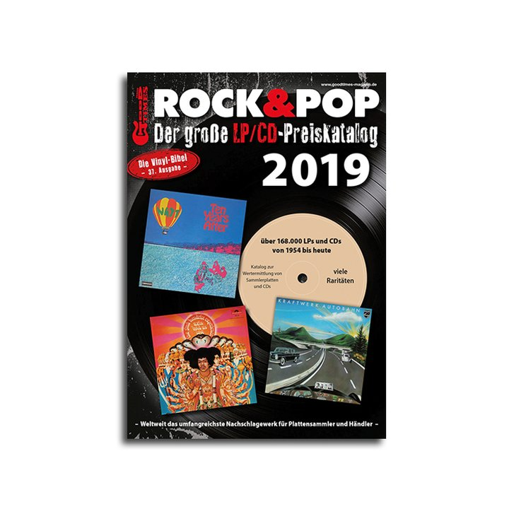 Rock & Pop Catalog LP & CD 2019