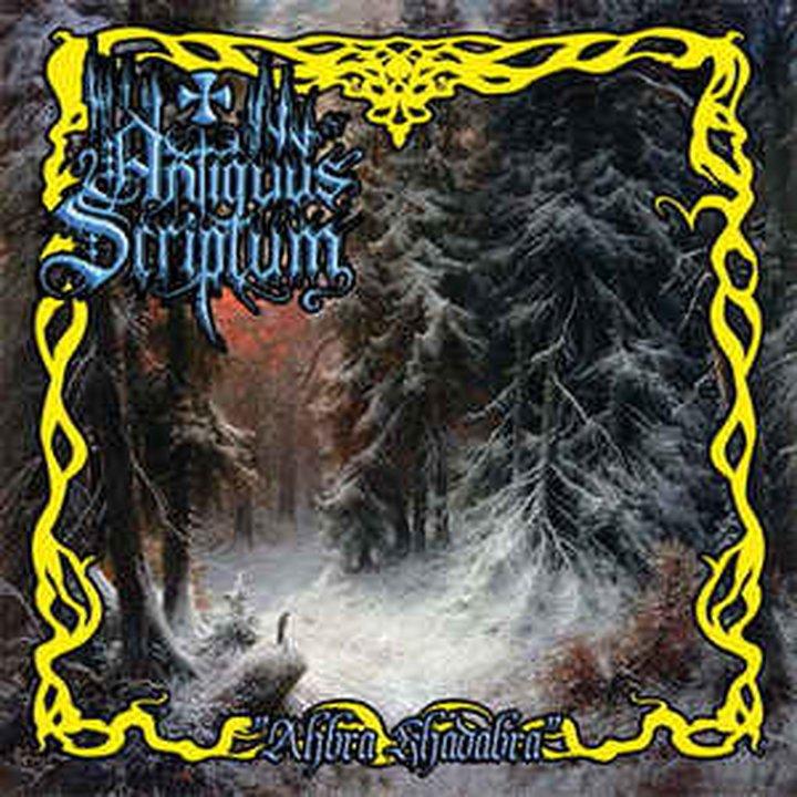 Antiquus Scriptum - Ahbra Khadabra CD